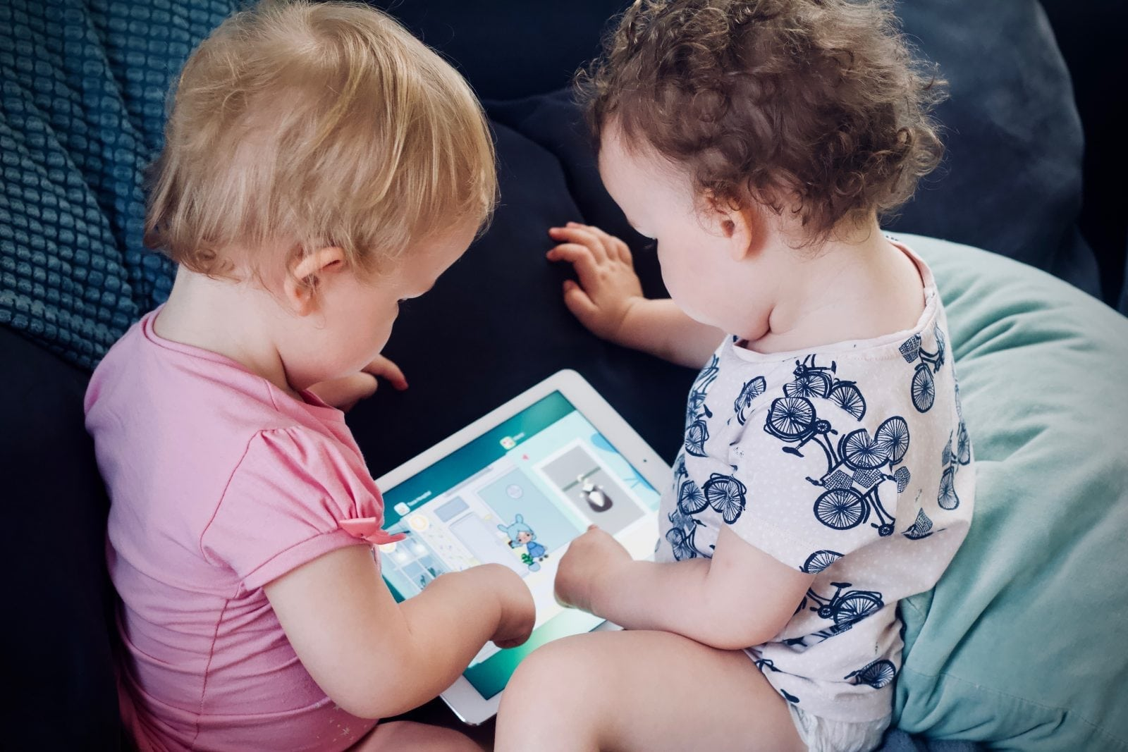 Children Play Tablet