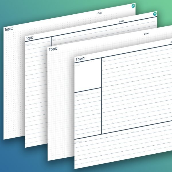 Note-Taking Templates